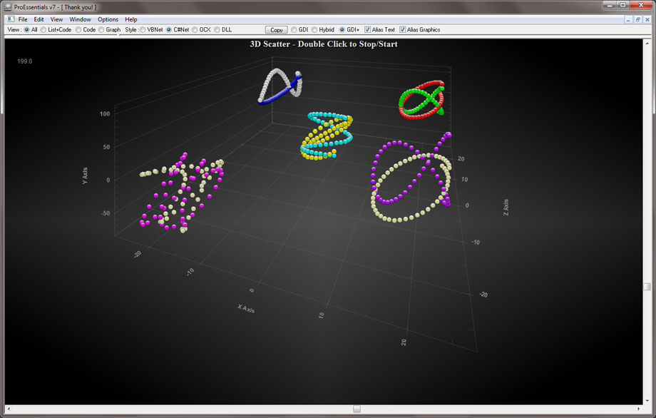 3D scatter chart for .net C# charting