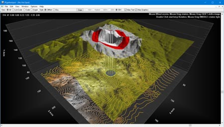 OCX Chart 3d surface scatter wireframe terrain